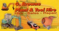 G. Browne Plant & Tool Hire